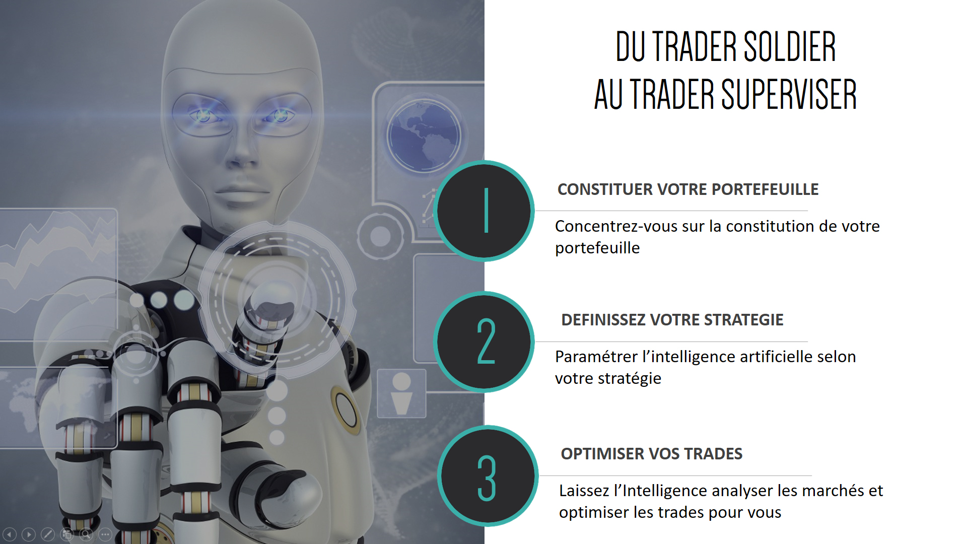 INTELLIGENCE ARTIFICIELLE SPECIALISEE DANS LE TRADING