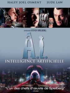 A.I., Intelligence artificielle, affiche